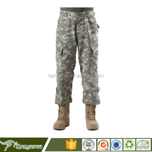35%cotton,65%polyester digital camouflage military ripstop ACU uniform trousers/ combat tactical army pant