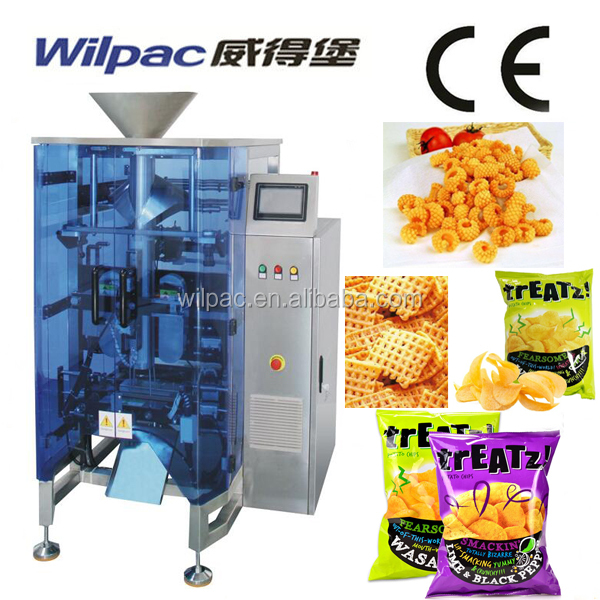 Auto Potato Chips Pouch Packaging Machine