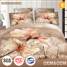Exquisite Design 100% Polyester 4Pcs Cartoon Bedding Set 3D Fancy Car Printed Kid Bedding