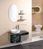 T-011 vainity top and cheap china bathroom cabinet furniture