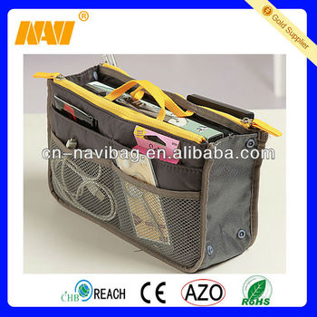 cosmetic bag with three compartments(NV-CSJ077)