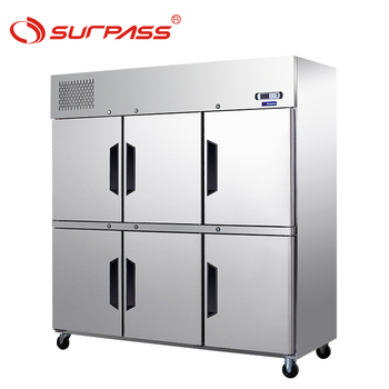 Doors Upright Refrigerated Cabinets for GN pans