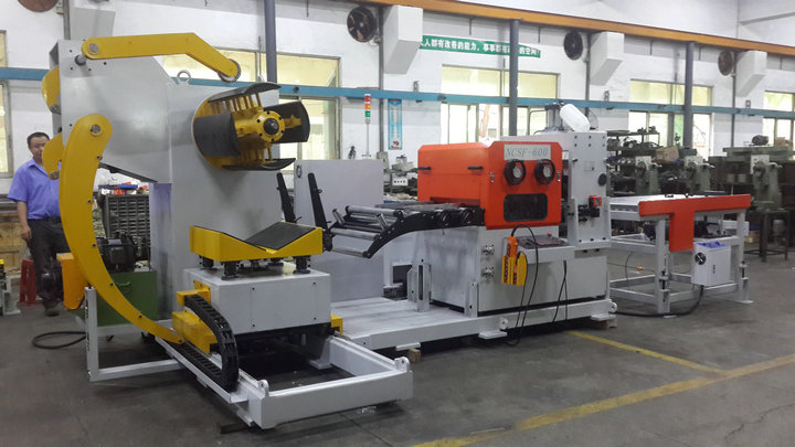 straightening and cutting machine for stainless steel coil