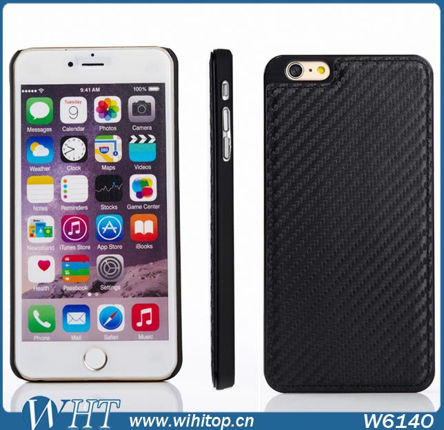 High Quality Carbon Fiber for iPhone 6 4.7 inch Case, Cheap Mobile Phone Case for iPhone 6