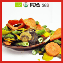 Low Temperature Vacuum Fried Vegetables Chips as Health Snack