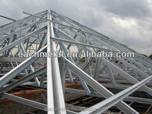 grid steel structure roof