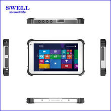 rugged android tablet with docking win10 tablet pc 3G dual wifi IP67 GPS docking NFC 1D/2D barcode scanner I82
