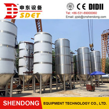 100L-3000L per batch micro beer brewing equipment used in school laboratory hotel