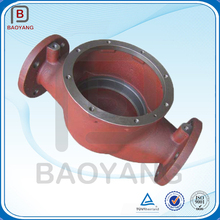 Gear box housing sand casting nodular cast iron casting with painting