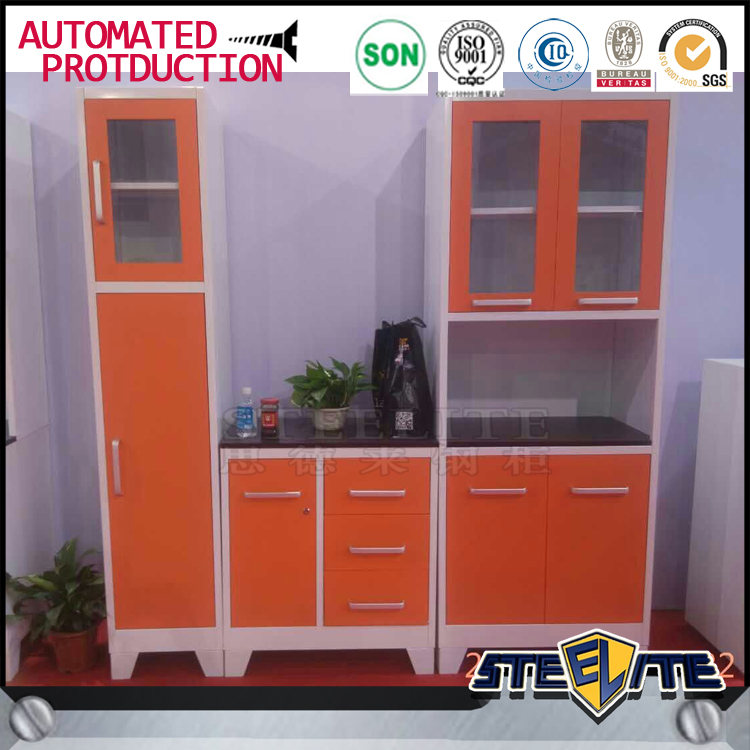 Display Kitchen Cabinets For Sale: 2016 Modern Kitchen Cabinet Simple Designs Metal Iron