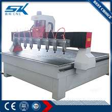 Multi spindle cnc router wood carving machine price mdf cutting machine price 4 axis woodworking for furniture 3d cnc router