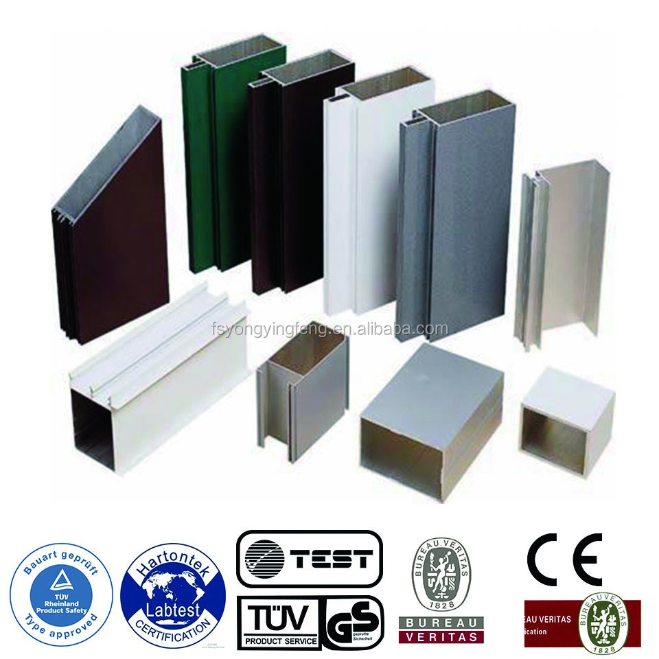 Anodized Aluminim profile, Door and Window Profile, Aluminum Product