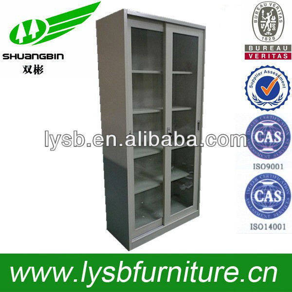 Clearly view steel chemical safety cabinet sliding door