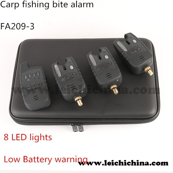Wholesale wireless electronic bite alarm carp fishing tackle