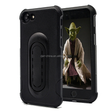 Heavy duty hybird armor for i phone7 cheap case with stand for i phone 7