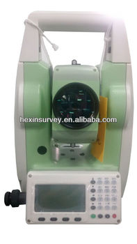 350m prismless total station visible laser total station