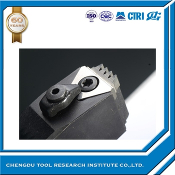 CTRI four cutting edge Pulley groove insert horizontal groove insert