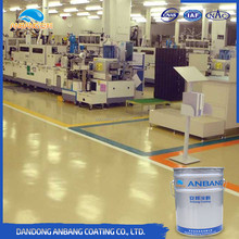 AB300D good penetration high good adhesion industrial epoxy floor paint with resistance to alkali