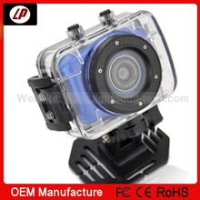 2014 latest waterproof hd sport camera with super powerful function