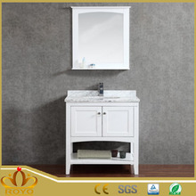 Modern furniture wall mounted MDF mirror jewelry bathroom cabinet