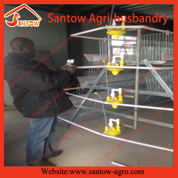 Customized safe A type cool galvanized broiler meat cage