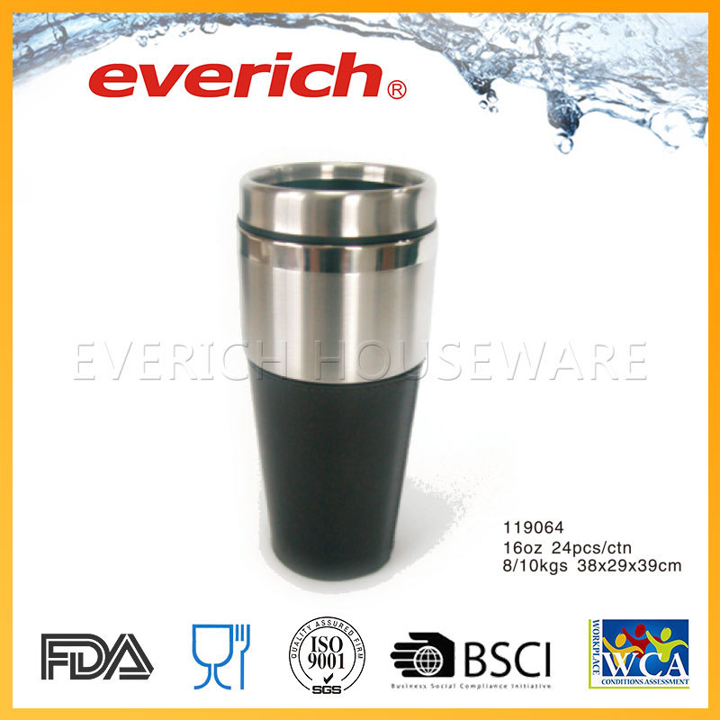 Reusable travel unique stainless thermo mug