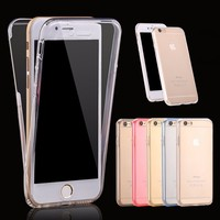 New arrival Hot selling 360 TPU case for iphone 6s