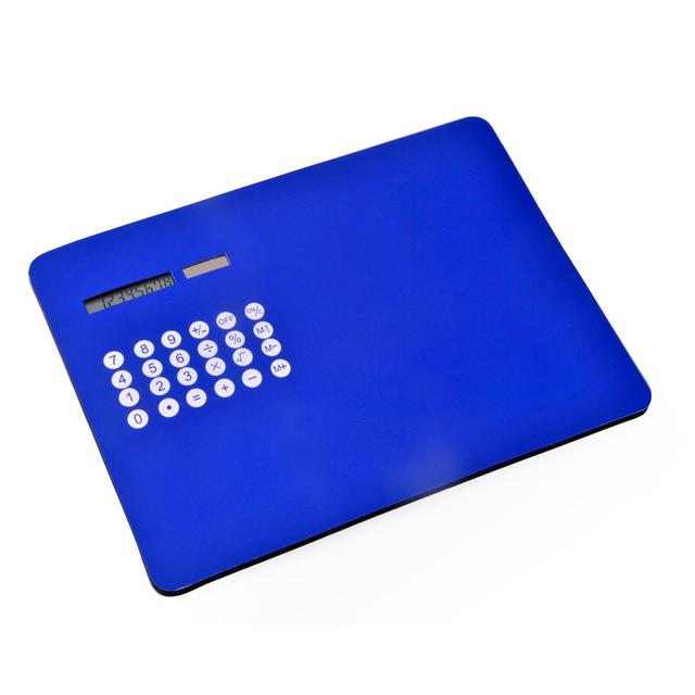 EVA Mousepad Calculator, Custom Imprinted Mosepad Calculator, Dual Power Soft Touch Calculator