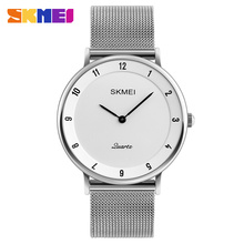 Wholesale Skmei #1264 water resistant quartz stainless steel back men watch