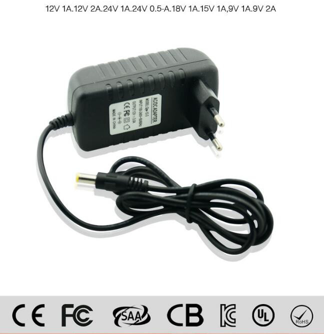 3 Years Warranty Certificate power supply constant voltage European regulation 15V 1A wall plug adapter