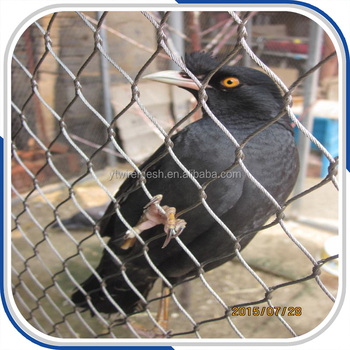 Stainless Steel Flexible Bird Cage Mesh,Aviary Mesh Netting