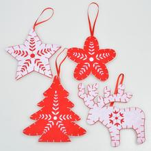Promation felt christmas decoration make it christmas ornaments