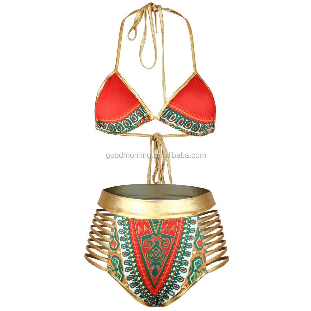 Sexy Women Halter Push Up Bandage Brazilian Bikini Swimsuit