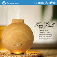 600Ml UFO Wood Ultrasonic Aroma Diffuser Ultrasonic Vaporizador