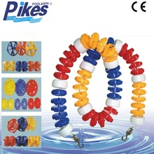 Swimming pool accessories float lane line manufacture,plastic swimming pools line