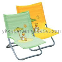 New design Most popular fashion folding deck chair for kids