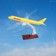 scale model aircraft boeing 757 resin airplane model DHL model plane,ISO9001,OEM,excellent quality, gifts,decoration,collection