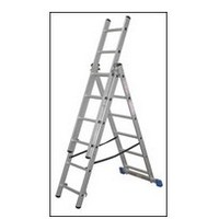 8 Rung Combi/Combination/Extension/Multi/Step Ladder