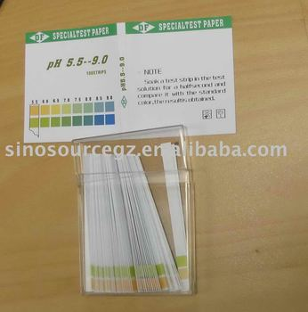 1-14 strips pH Test paper pH Indicator Paper Chemical lab Scientific lab