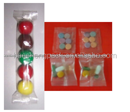 Automatic equipment round tablet pack machine small size