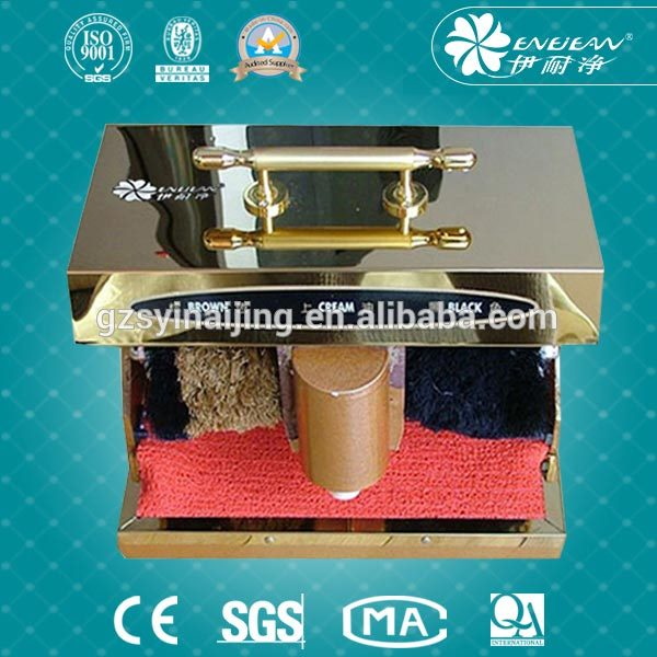 Hot selling auto electric shoe polisher with CE certificate