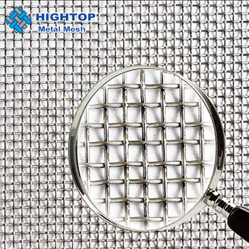 ISO factory high quality 304/ 316 L Stainless Steel Wire Mesh