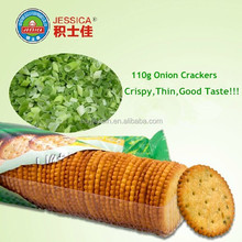 Nice Biscuits Cheap Biscuits Hot sell biscuits Crispy Round Shape Thin Biscuits Onion Flavor