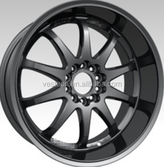 replica 17x7.0 18x7.5 aluminum rims car wheels
