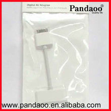 wholesale price video adapter 30pin to HDMI