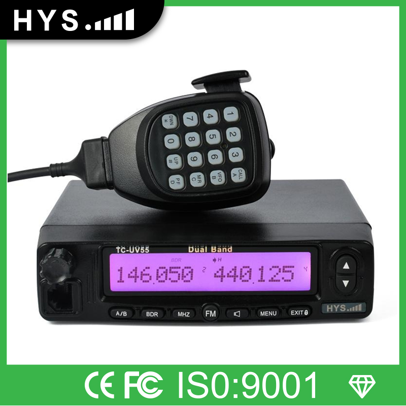 Low Price Dual Band Frequency Chinese Car Radio Transceiver TC-UV55