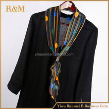 2016 cheap fashion lady magnetic scarf