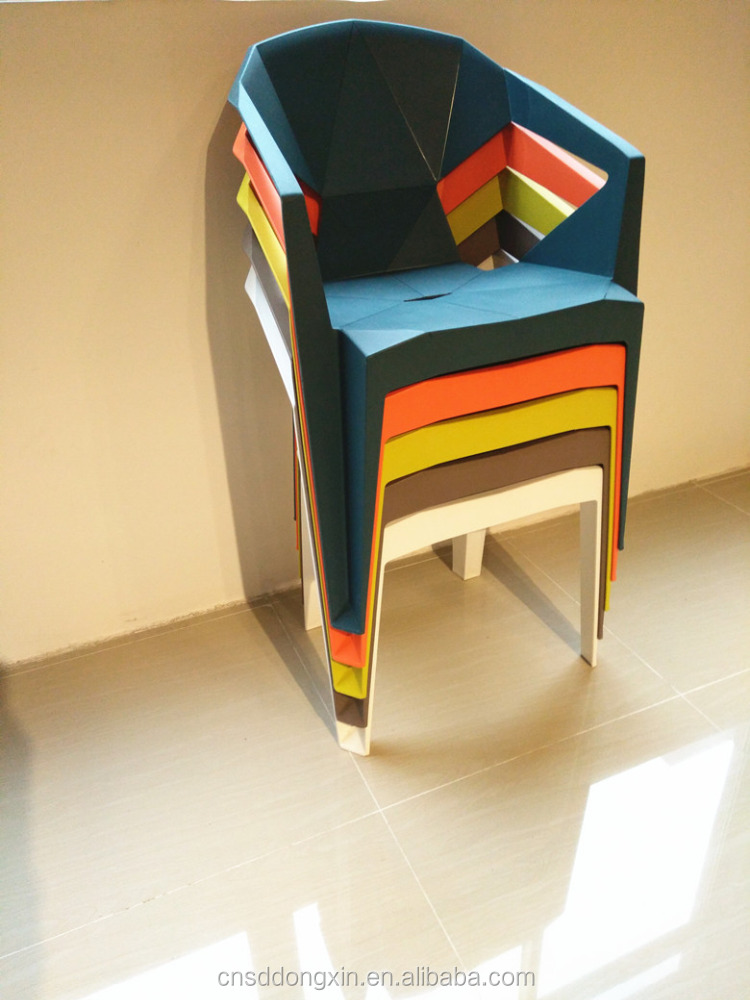 2017 New Design White Plastic Dining <strong>Chair</strong>