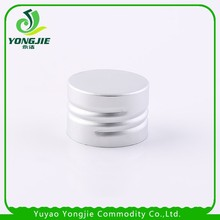 Silver color aluminum caps for bottles universal shampoo cap