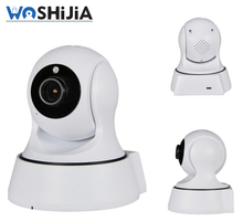 mini robot ptz wifi wireless ip camera for home security sd card long time